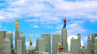【ゴルペディア】ゴルフ練習場あるある。今日は集中できてないなぁ~と思う時。